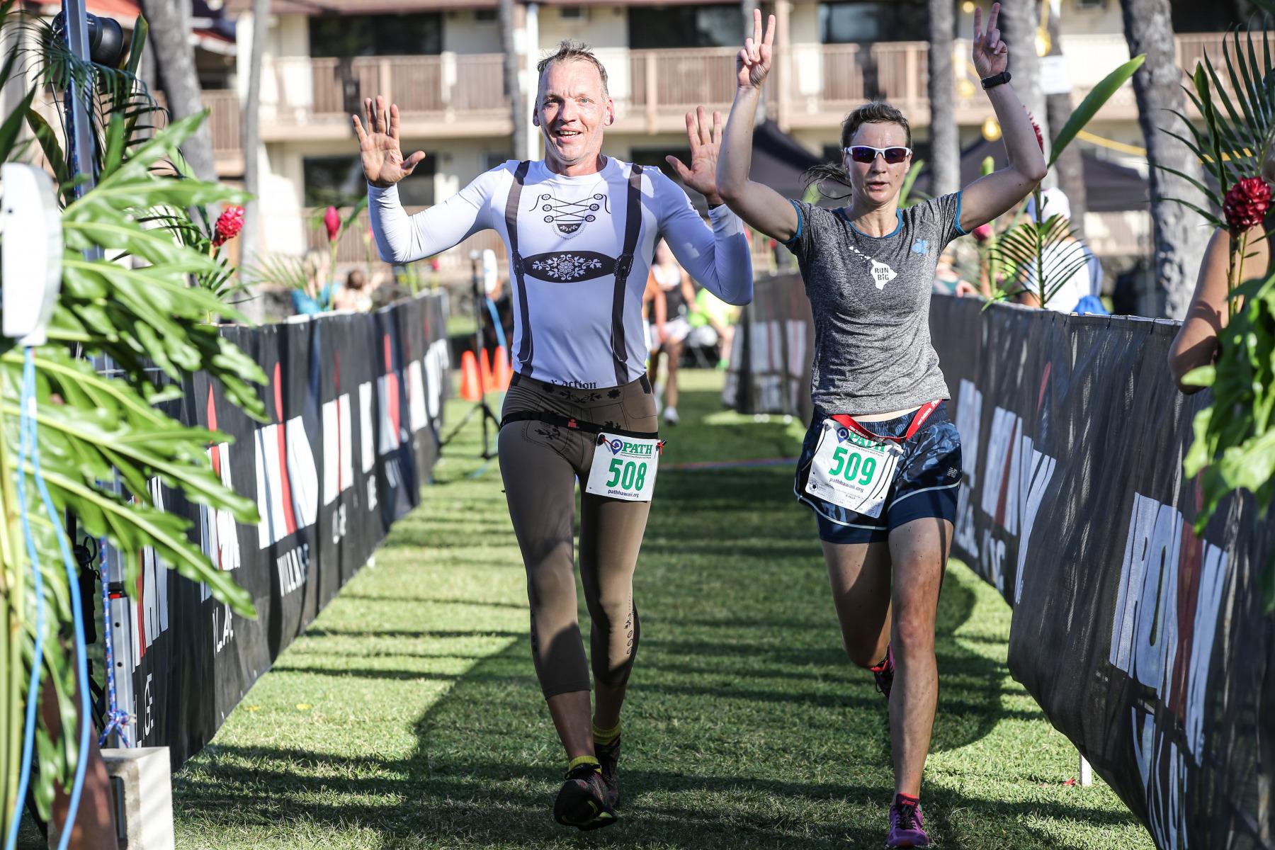 Eindeutig ein Läufer from Germany. Die deutschen Sportlerinnen und Sportler haben den Path Run für sich entdeckt. In fast jeder Altersklasse läuft einer oder eine in die Top 3.