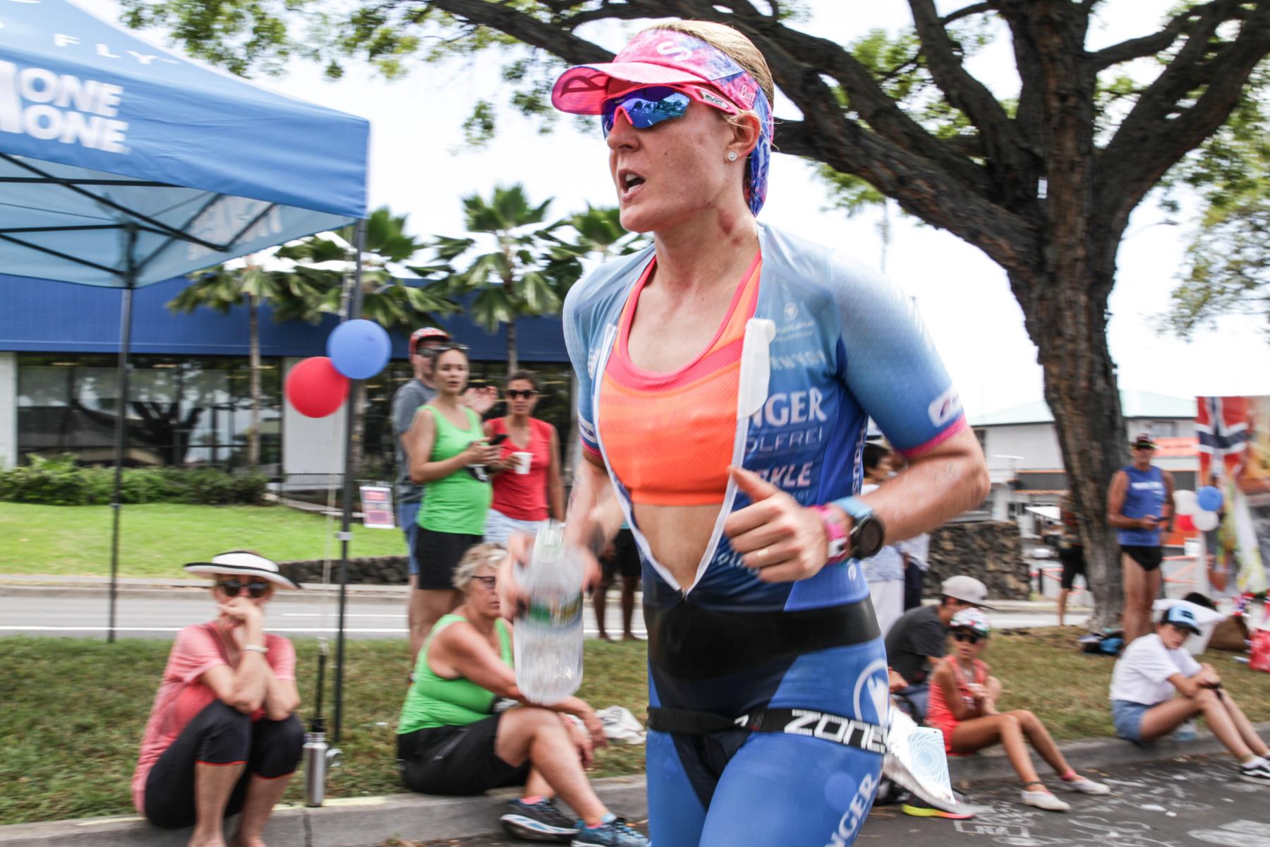 Daniela Bleymehl hatte 2016 auf Hawaii einen rabenschwarzen Tag. Heute läuft es besser für die Darmstädterin.