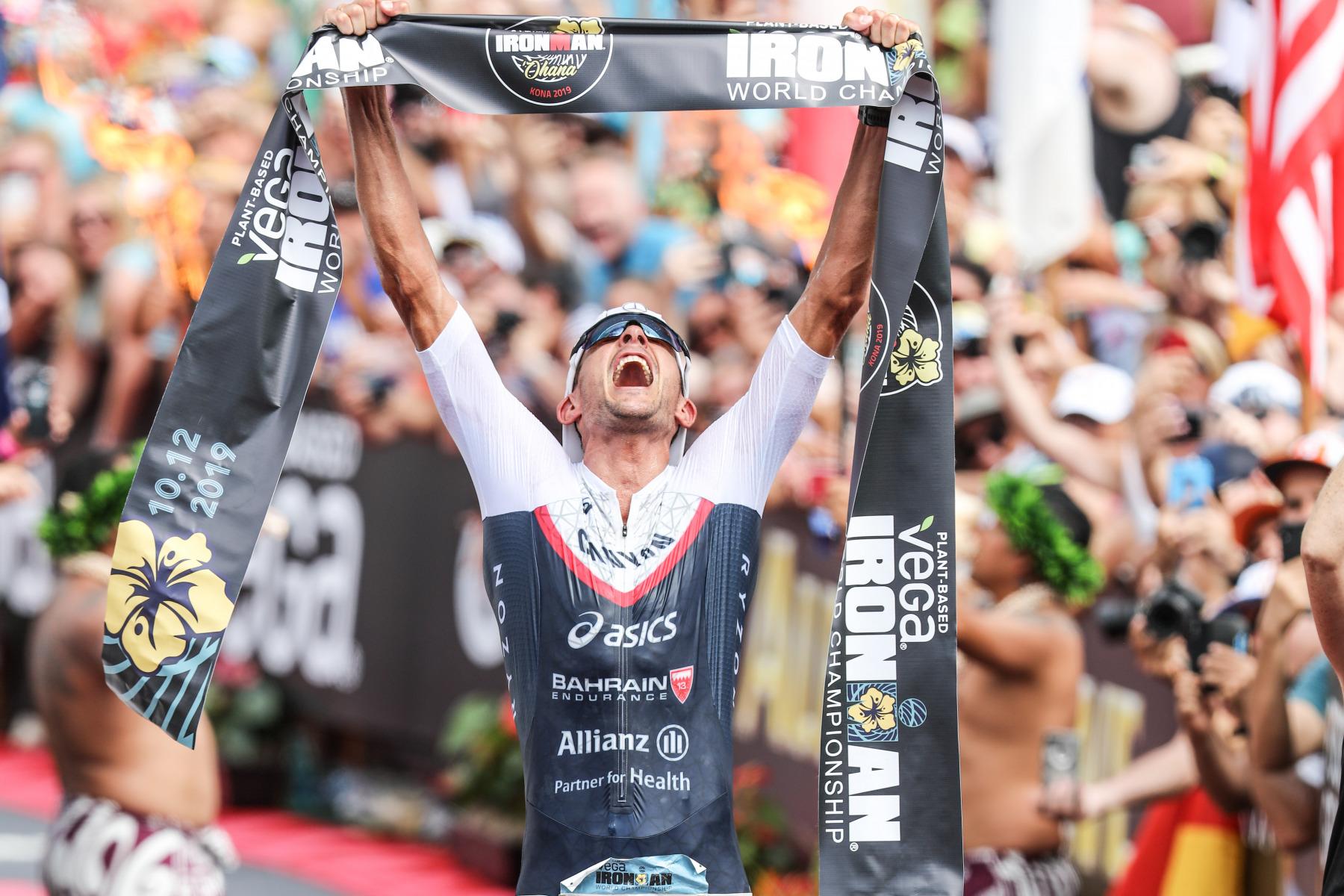 Zum dritten Mal nach 2015 und 2016 holt Frodeno den Weltmeistertitel.