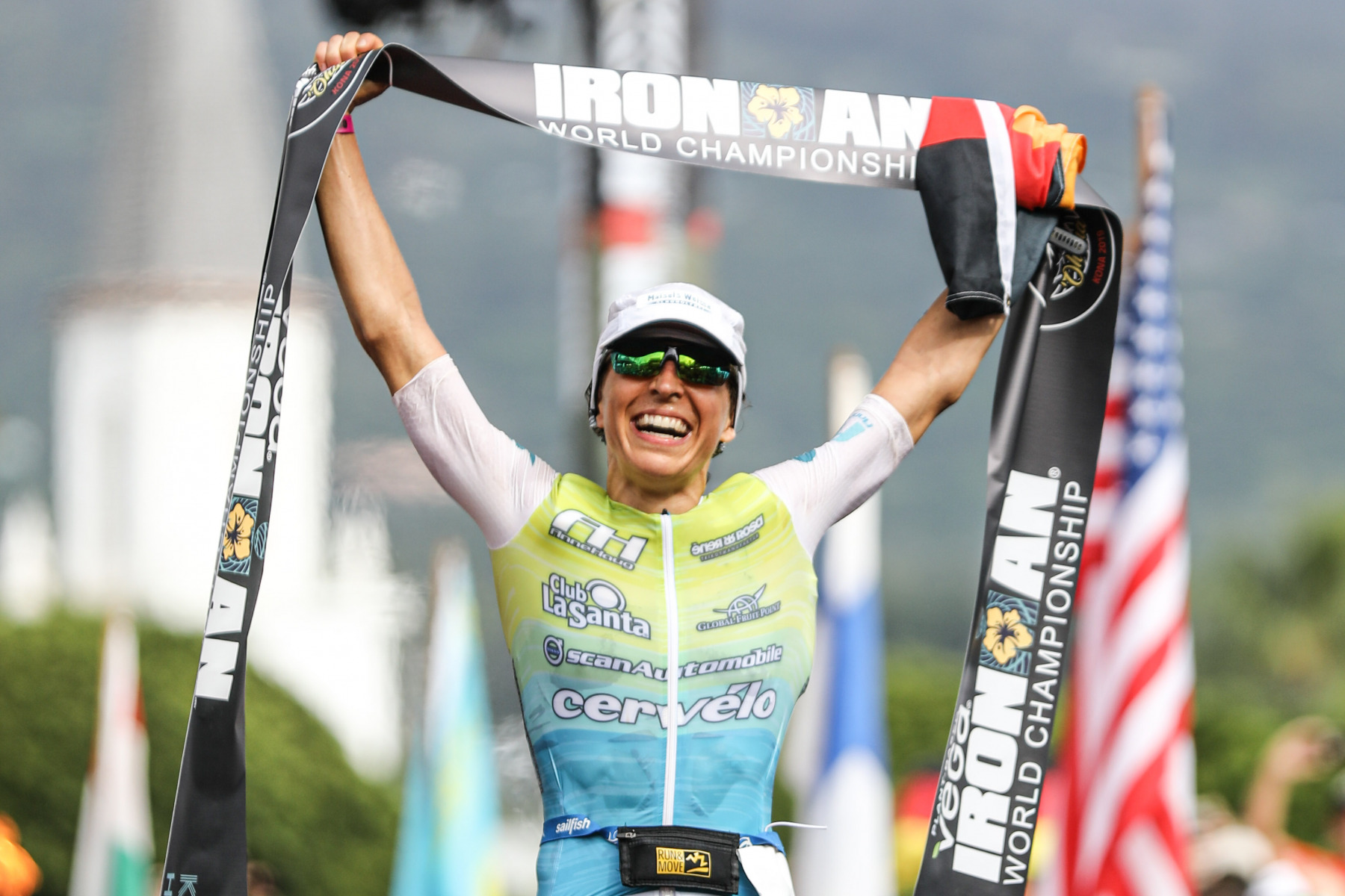 Anne Haug macht nach ihrem dritten Platz 2018 diesmal den Sieg perfekt.