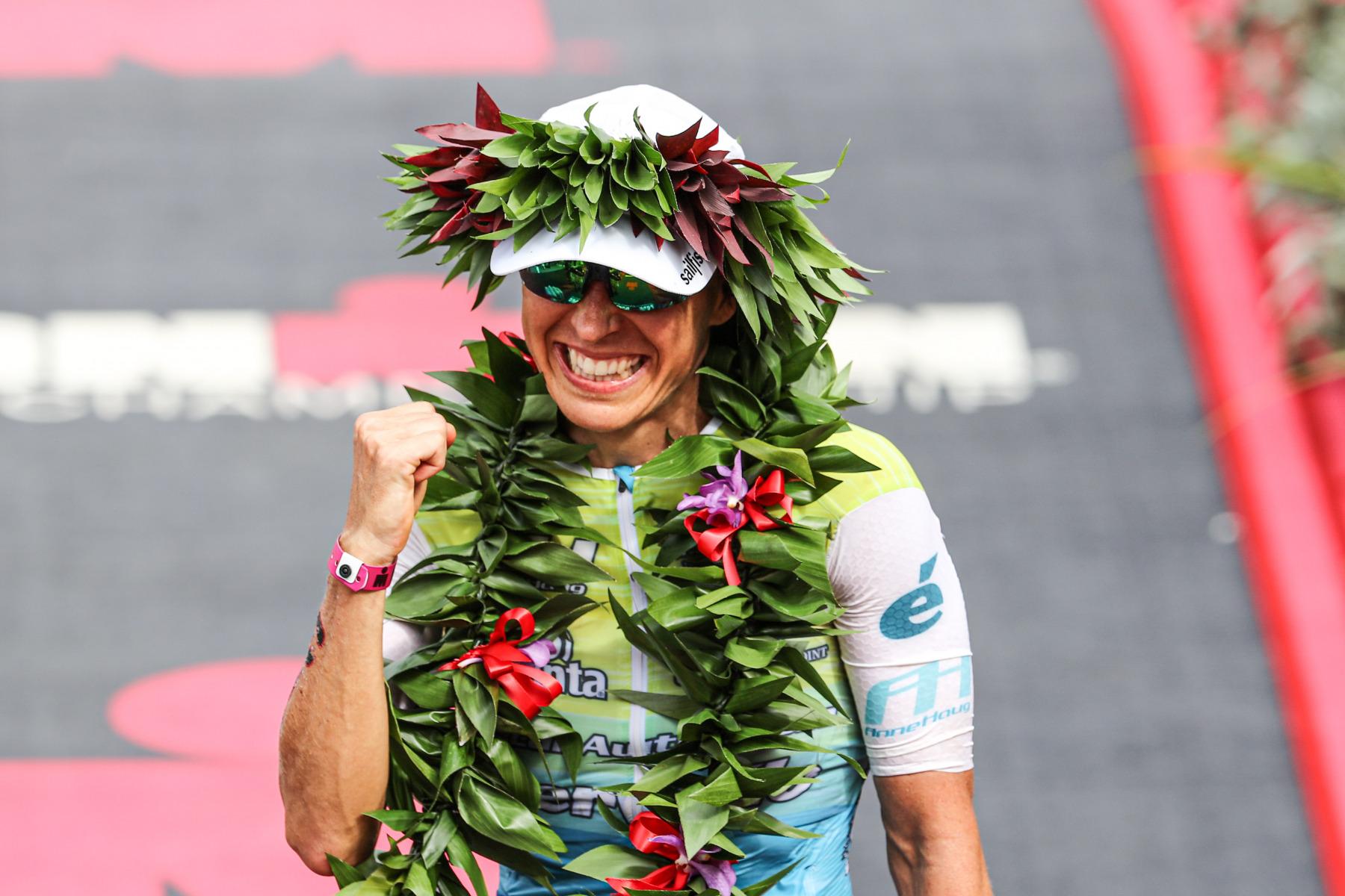 Es ist der erste Triumph einer deutschen Triathletin auf Hawaii.