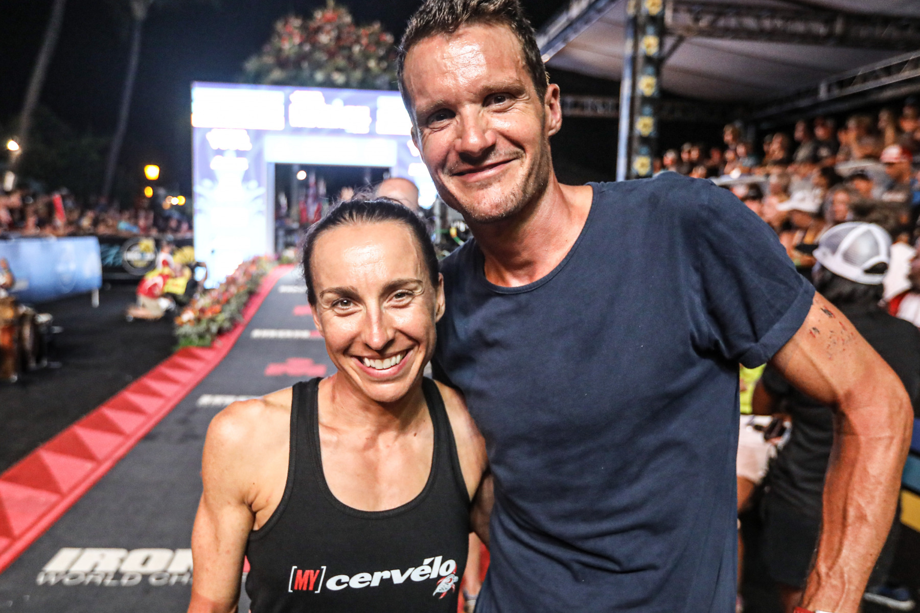 Das gab's noch nie: Anne Haug und Jan Frodeno sorgen für einen deutschen Doppelerfolg.