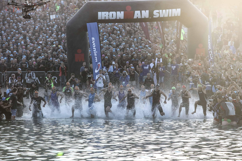 Ironman Frankfurt 2018 Schwimmen
