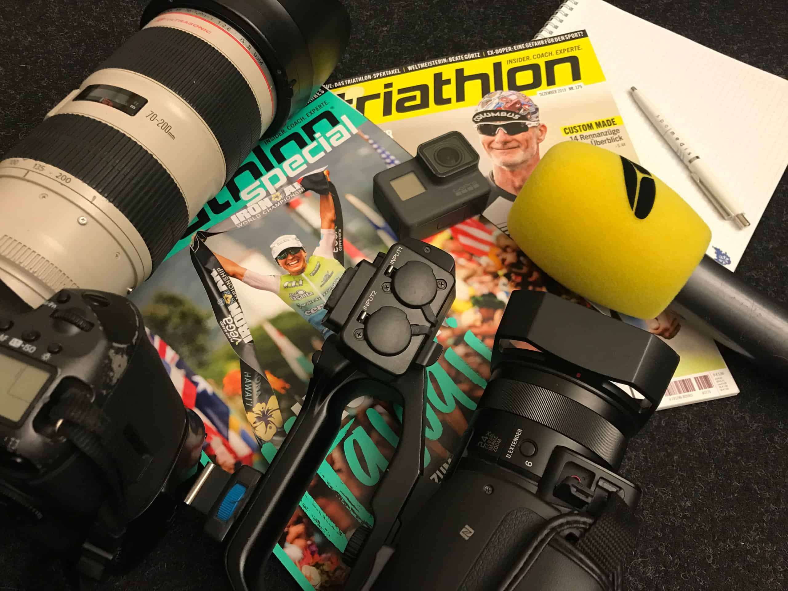 triathlon multimedial