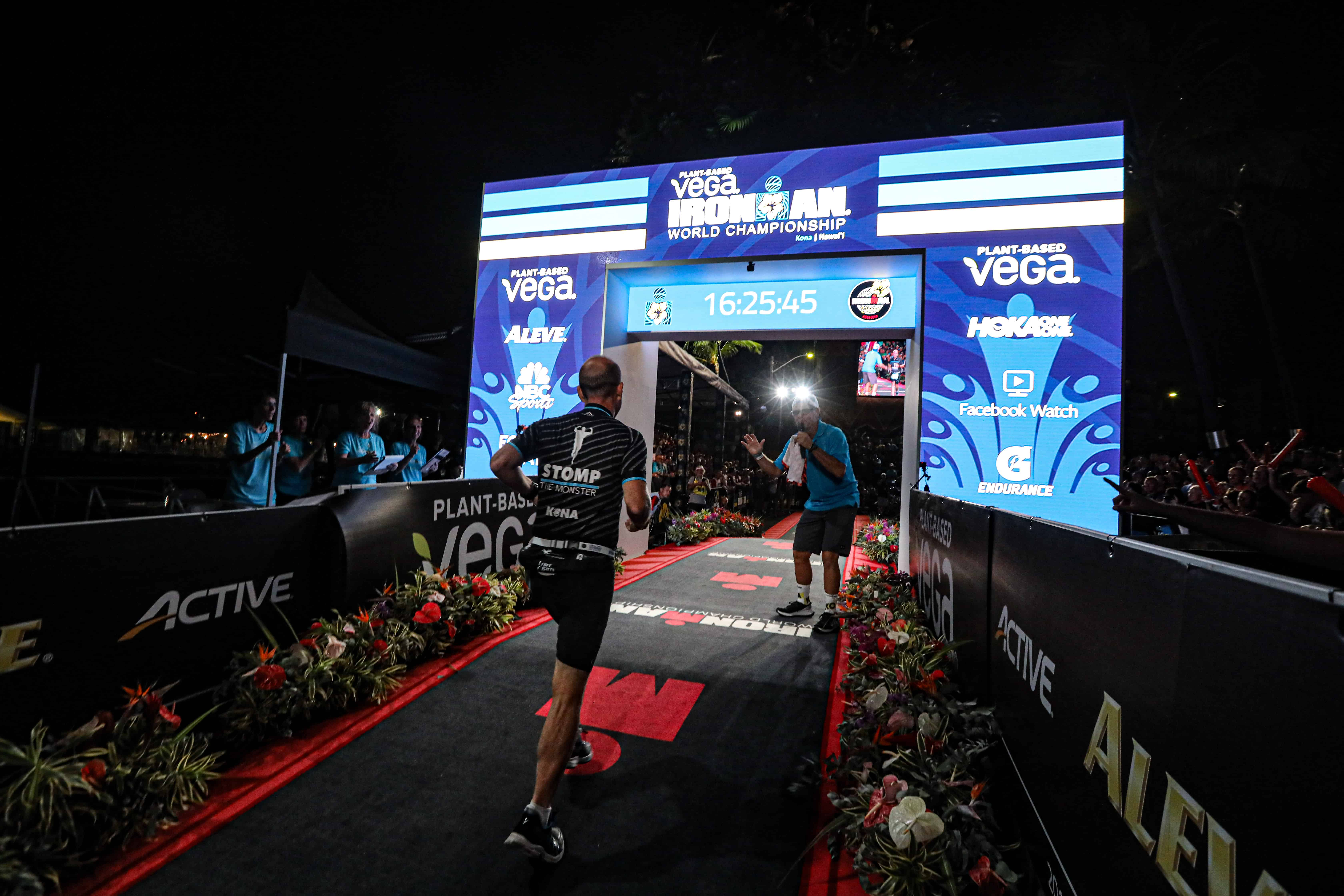 Zieleinlauf Ironman Hawaii